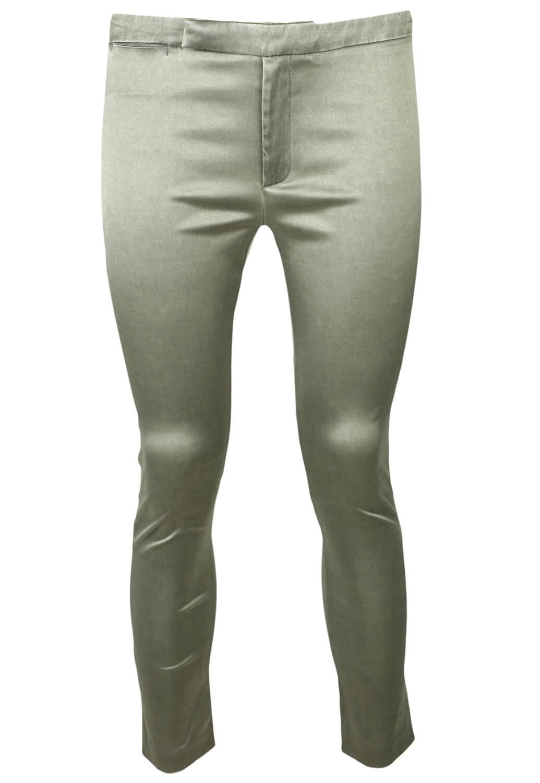 Pantaloni Mango Pam Silver