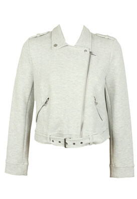 JACHETA ZARA LAURA LIGHT GREY