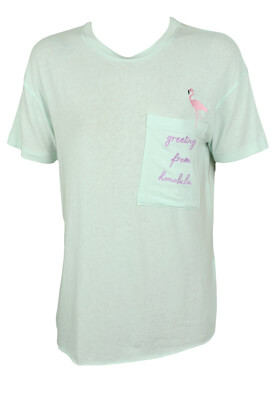 TRICOU PULL AND BEAR ABBIE LIGHT GREEN