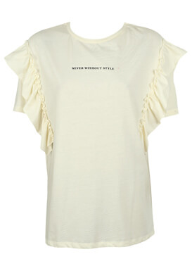 TRICOU PULL AND BEAR JOYCE LIGHT BEIGE