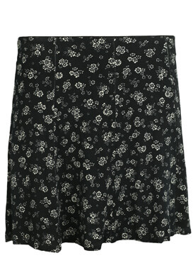FUSTA PULL AND BEAR LOIS BLACK