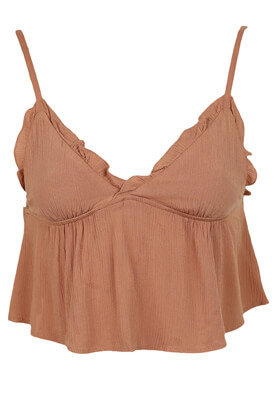TOP PULL AND BEAR ALEXANDRA LIGHT BROWN