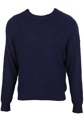 PULOVER PULL AND BEAR CARLOS DARK BLUE