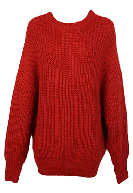 PULOVER PULL AND BEAR NICOLE RED