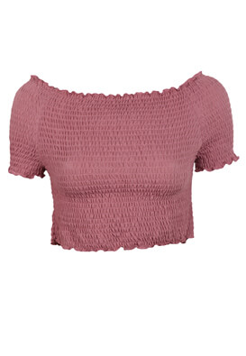 TOP PULL AND BEAR IRENE DARK PINK