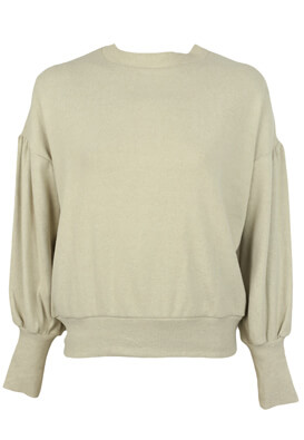 PULOVER PULL AND BEAR GLORIA LIGHT BEIGE