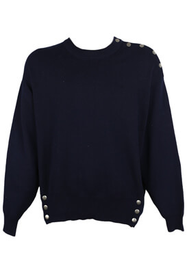 PULOVER PULL AND BEAR TONI DARK BLUE