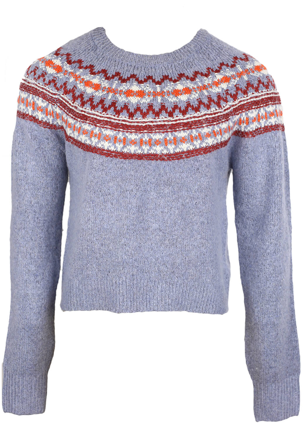 Pulover Pull and Bear Joe Light Blue