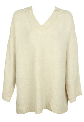 PULOVER PULL AND BEAR CARRIE LIGHT BEIGE