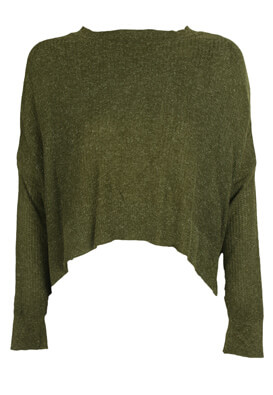 BLUZA PULL AND BEAR DASIA DARK GREEN