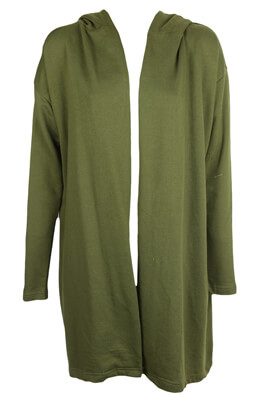 JERSEU PULL AND BEAR YVONNE DARK GREEN