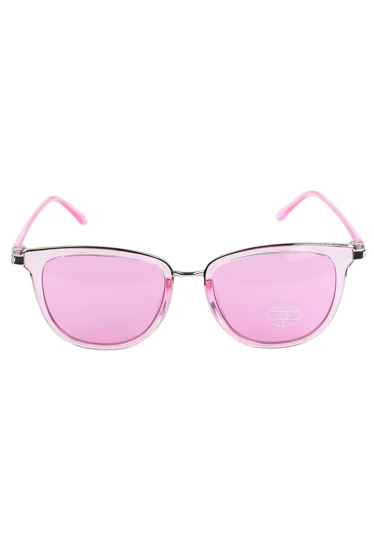 Ochelari de soare Bershka Amelia Light Pink