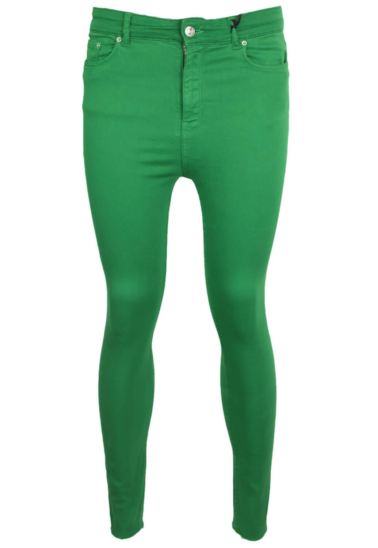 Pantaloni ZARA Glam Dark Green