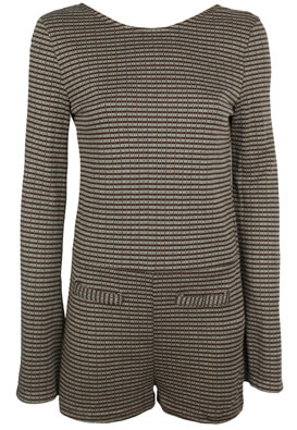 SALOPETA PULL AND BEAR LIZZY BROWN