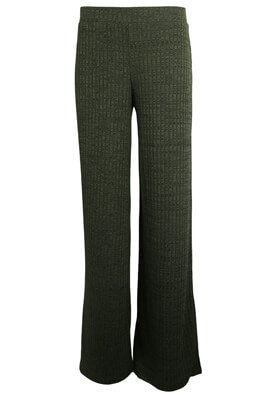 PANTALONI PULL AND BEAR MARA DARK GREEN