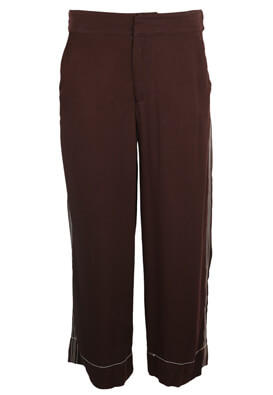 PANTALONI PULL AND BEAR KORA DARK PURPLE