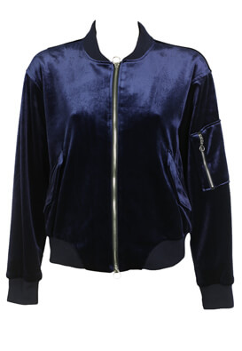 JACHETA PULL AND BEAR SALLY DARK BLUE