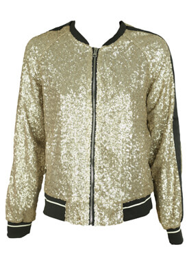 JACHETA PULL AND BEAR KITTY GOLDEN