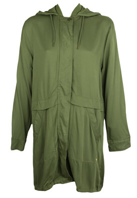 JACHETA PULL AND BEAR KEIRA DARK GREEN