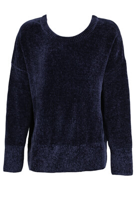 PULOVER ZARA ELISA DARK BLUE