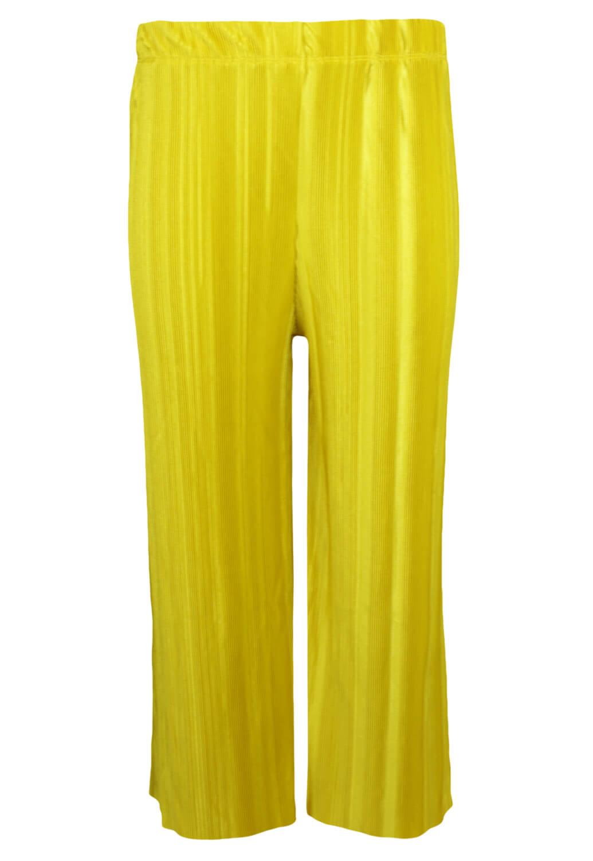 Pantaloni Bershka Gloria Yellow