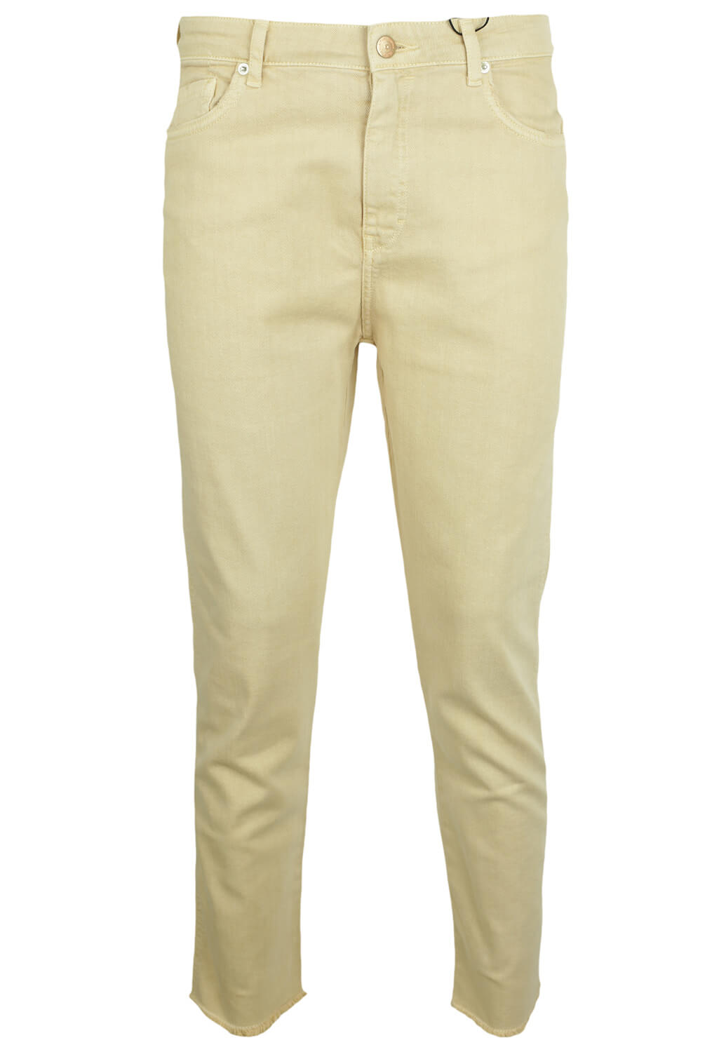 Pantaloni Bershka Mary Light Beige