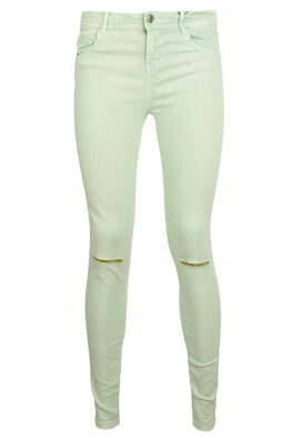 PANTALONI BERSHKA ANNA LIGHT GREEN