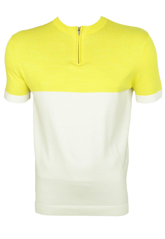 Tricou Polo ZARA Lukas Yellow