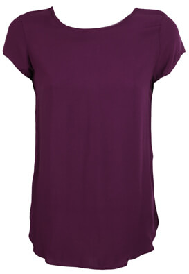TRICOU VERO MODA RILEY DARK PURPLE