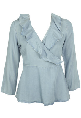 BLUZA VERO MODA WENDY LIGHT BLUE
