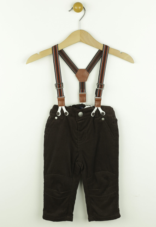 Pantaloni Kiabi Toni Dark Brown