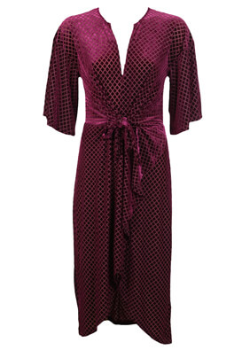 ROCHIE ZARA KIMBERLY DARK PURPLE