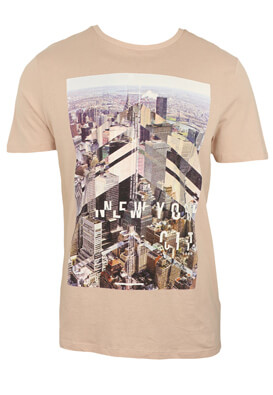 TRICOU NEW LOOK GEORGE LIGHT PINK