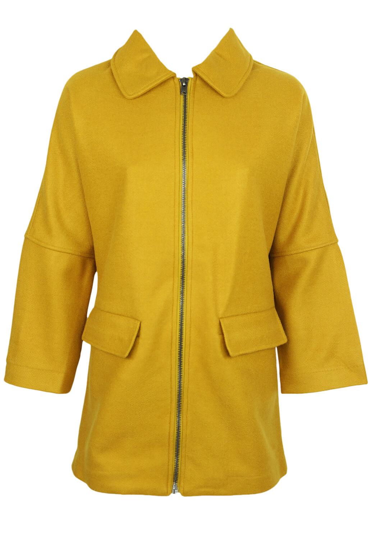Palton Only Linda Dark Yellow