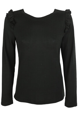 BLUZA ONLY BASIC BLACK