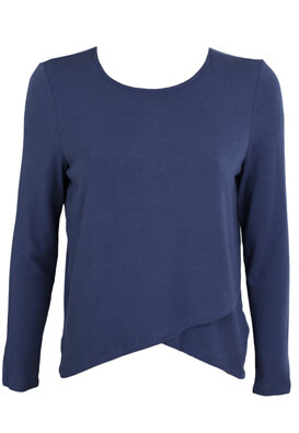 BLUZA ONLY BASIC BLUE