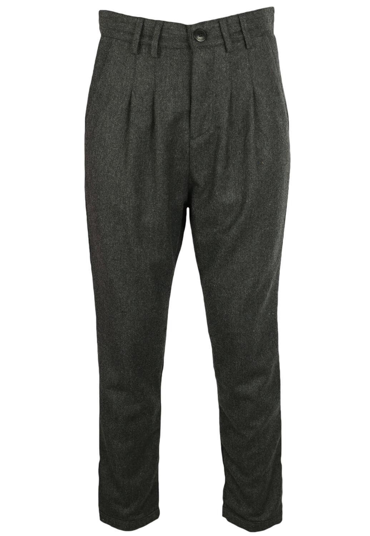 Pantaloni de stofa Elvine Nicole Dark Grey