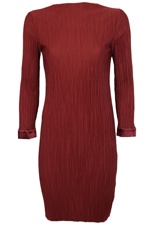 Rochie Selected Fancy Dark Red