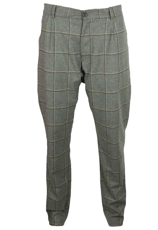 Pantaloni de stofa Elvine Isaac Grey
