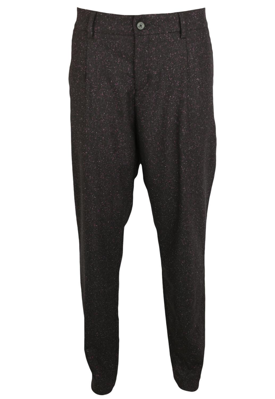 Pantaloni de stofa Elvine Roxanne Dark Purple