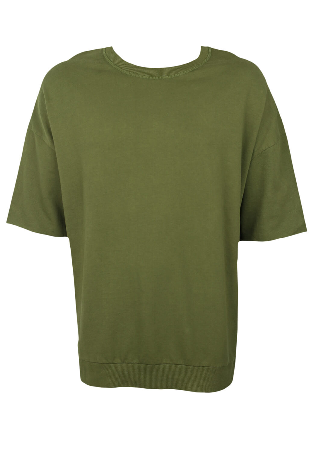 Tricou ZARA Neil Dark Green