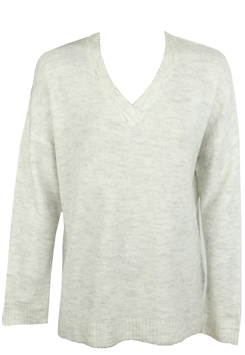 Bluza Pieces Basic Light Grey