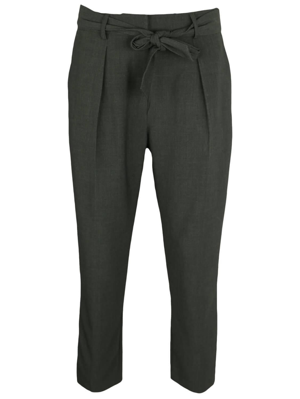 Pantaloni de stofa Promod Elisa Dark Grey