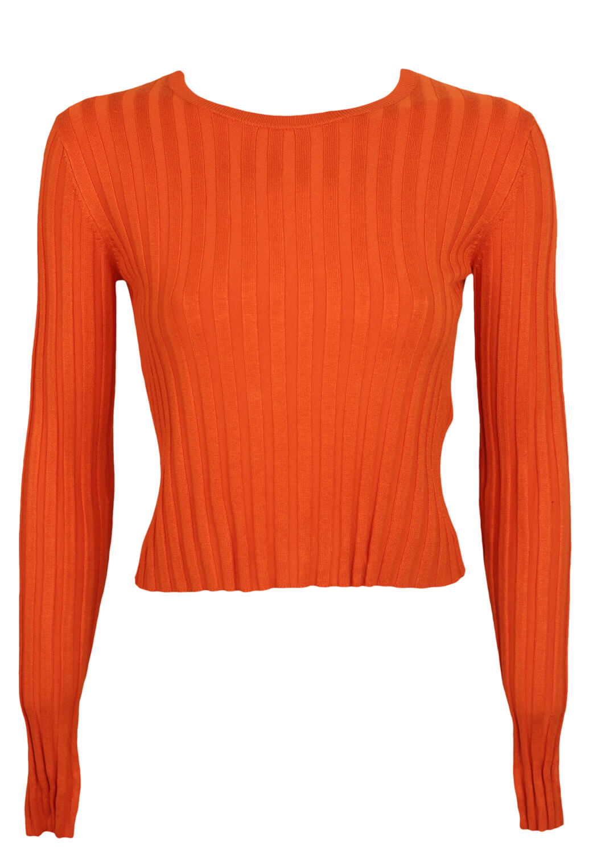 Bluza Bershka Kimberly Dark Orange