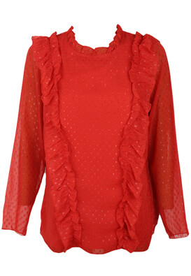 BLUZA JUNAROSE GLORIA RED