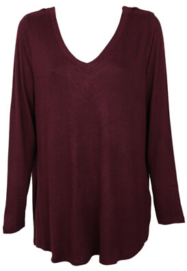 BLUZA JUNAROSE CIARA DARK PURPLE