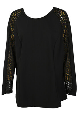 BLUZA JUNAROSE BLAIR BLACK