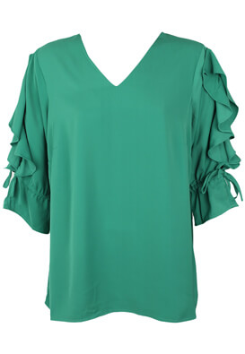 BLUZA JUNAROSE BLAIR GREEN