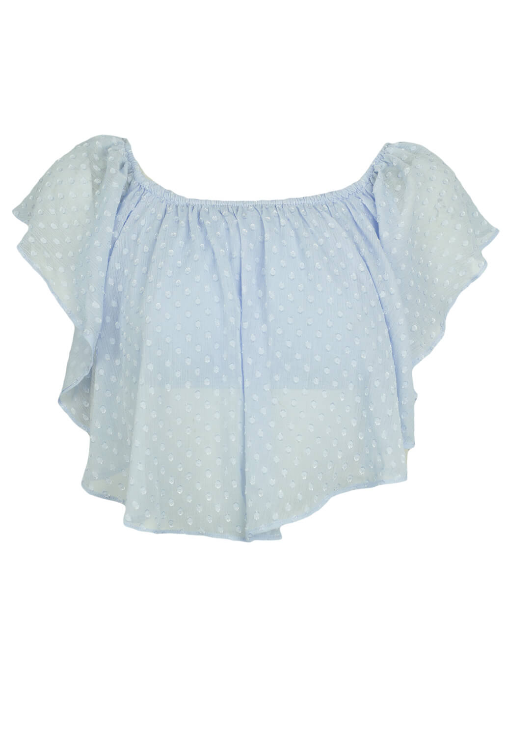 Tricou Bershka Heidi Light Blue