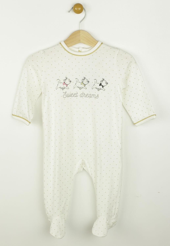 Pijama Disney Kitty White